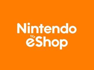 Das Bild zeigt das Nintendo eShop Logo zu sehen.