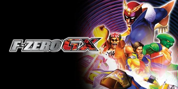 """Das Bild zeigt ein Werbebild zu dem GameCube-Spiel """"F-Zero GX""""."""