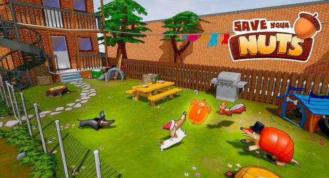 Das Bild zeigt eine Szene aus Save Your Nuts