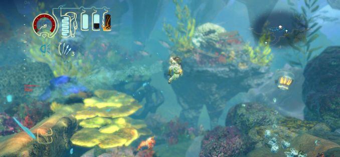 Das Bild zeigt eine Szene aus Shinsekai: Into The Depths