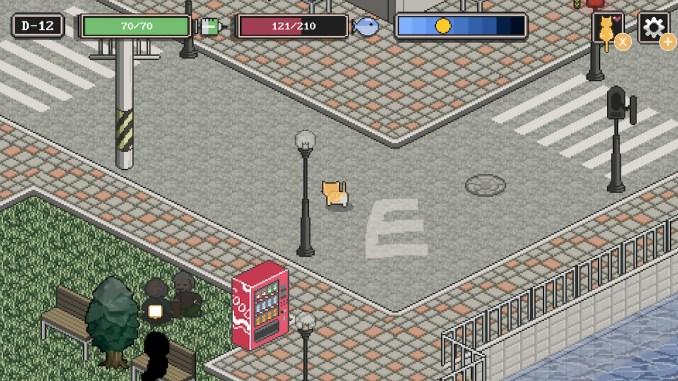 Das Bild zeigt eine Szene aus A Street Cat's Tale