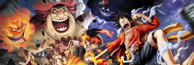 Auf dem Bild ist ein gezeichnetes One Piece Bannerfoto zu sehen.