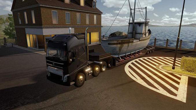 Das Bild zeigt eine Szene aus Truck Driver