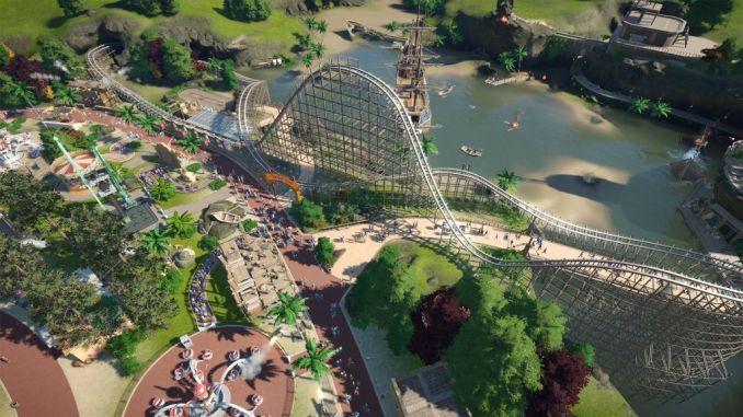 Sandbox – Das Bild zeigt einen Park aus Planet Coaster.