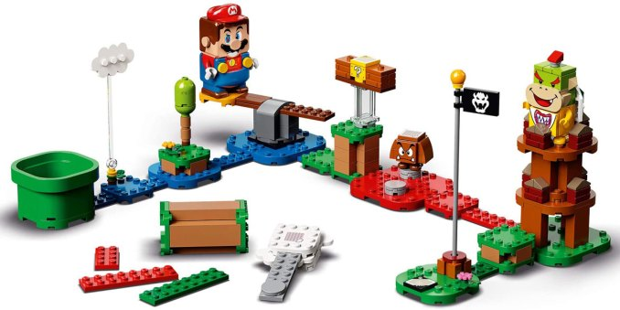 Auf dem Bild ist das Mario Starter Pack zu sehen, welches am 1. August erscheint.