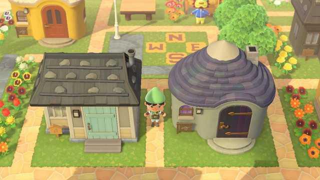 Das Bild zeigt das in den Zelda-Maps nachgebildete Dorf Kakariko.