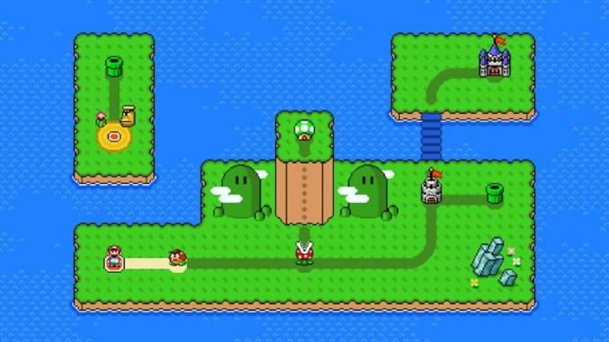 © Nintendo – Das Bild zeigt den Super Mario Maker 2 World Maker