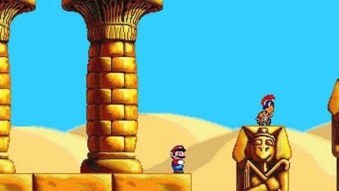 """Auf dem Bild ist eine Szene aus dem Spiel """"Mario Wacky Worlds"""" zu sehen. (Mario-Jubiläum)"""