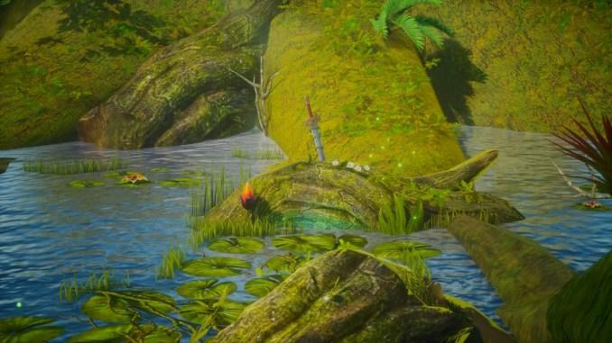 """Das Bild zeigt das Manaschwert aus """"Trials of Mana""""."""