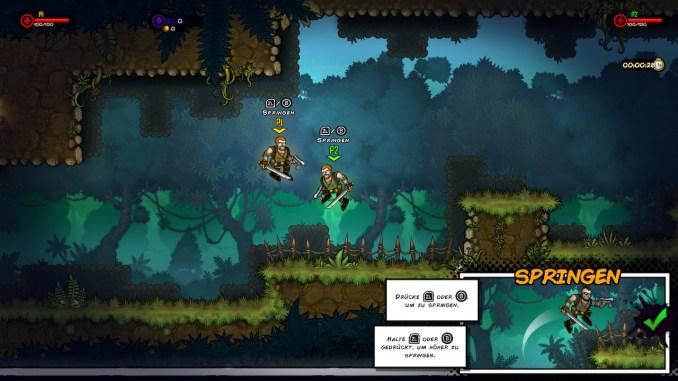 Das Bild zeigt den Multiplayer des Spiels.