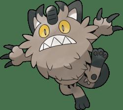 """Das Bild zeigt ein Galar-Mauzi aus """"Pokémon Schwert und Schild""""."""