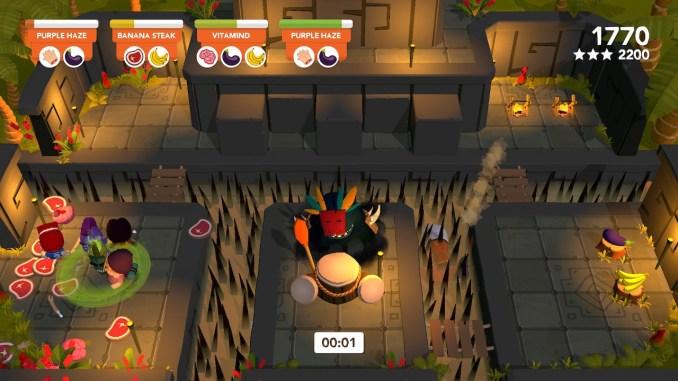 """Das Bild zeigt ein sehr schweres Level aus dem Spiel """"Cannibal Cuisine""""."""