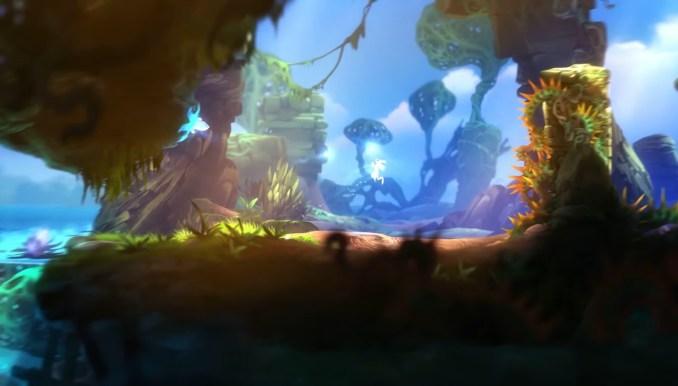 """Das Bild zeigt Moon Studios """"Ori and the Blind Forest"""" auf der Switch."""