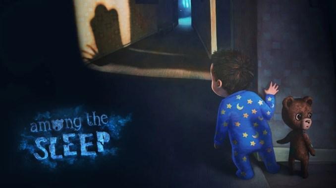 """Das Bild zeigt den kleinen Jungen und seinen Teddy aus dem Spiel """"Among the Sleep""""."""