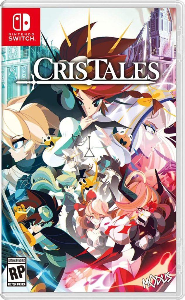 """Das Bild zeigt das Cover der physischen Version des Spieles """"Cris Tales""""."""