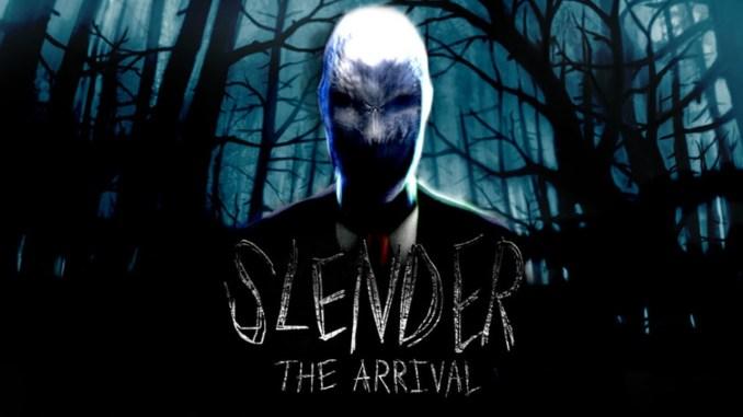 """Das Bild zeigt den Slender-Man aus dem Spiel """"Slender: The Arrival""""."""