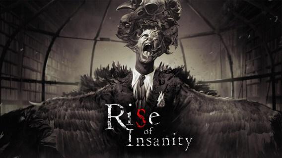 """Das Bild zeigt das Titelbild zu """"Rise of Insanity""""."""