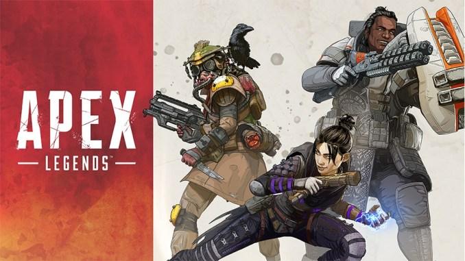 """Das Bild zeigt """"Apex Legends"""", eins der sieben angekündigten EA-Spiele für die Switch."""