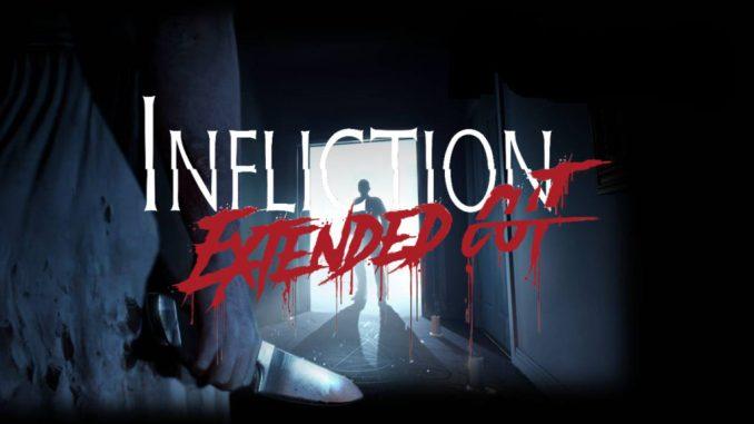 """Das Bild zeigt das Titelbild zur Extended-Cut-Version von """"Infliction""""."""