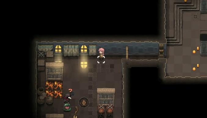 """Das Bild zeigt einen Dungeon in """"Crown Trick""""."""