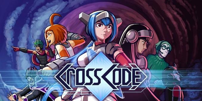 """Das Bild zeigt das Logo von """"CrossCode"""", eine der Spieleideen für Jung und Alt."""