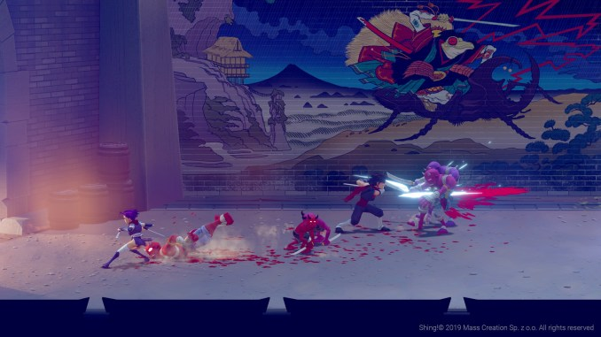 """Das Bild zeigt eine Szene aus dem Spiel """"Shing!""""."""