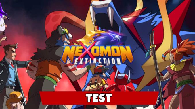 """Das Bild zeigt eine Zene aus dem Spiel """"Nexomon: Extinction""""."""