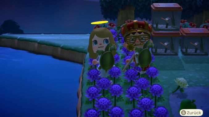 "Das Bild zeigt Tierchen im Oktober in ""Animal Crossing: New Horizons""."