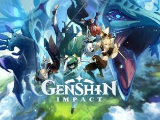 Das Bild zeigt den Titel von Genshin Impact