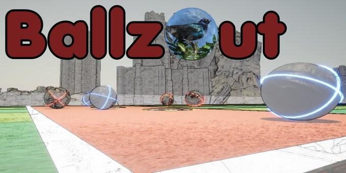 """as Bild zeigt """"BallzOut"""", welches zu den Veröffentlichungen zählt."""
