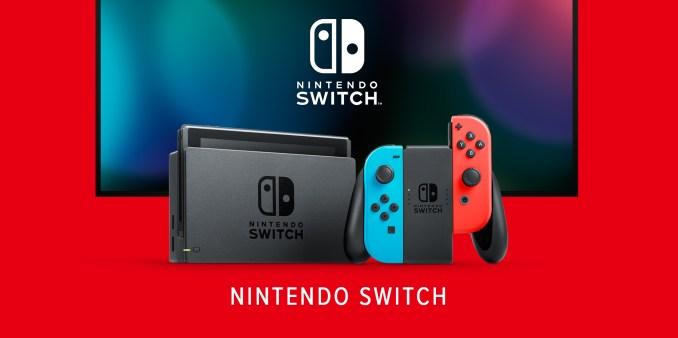 Das Bild zeigt die Nintendo Switch.
