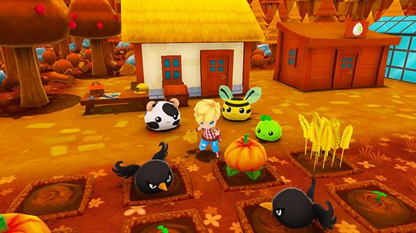"""Das Bild zeigt eine Szene aus dem Spiel """"Ova Magica""""."""