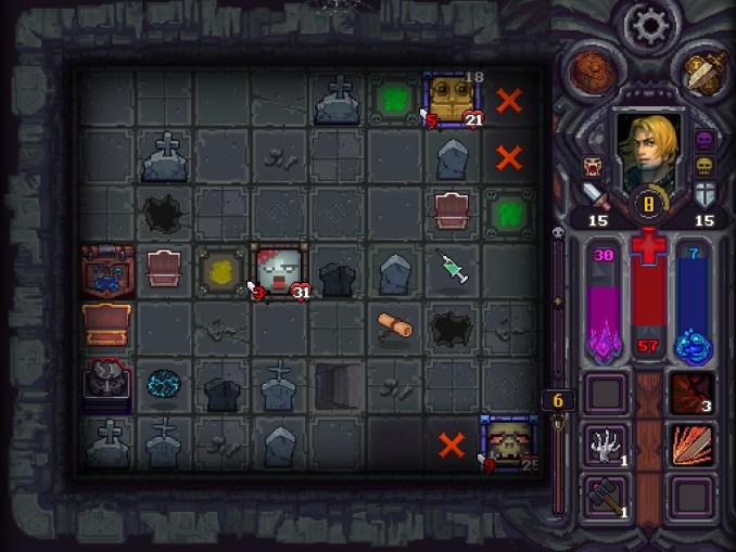 """Das Bild zeigt eine Szene aus dem Spiel """"Runestone Keeper""""."""