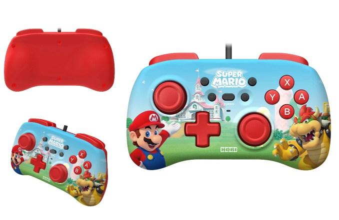 Dieses Bild zeigt einen Switch Controller im Mario-Style von HORI.