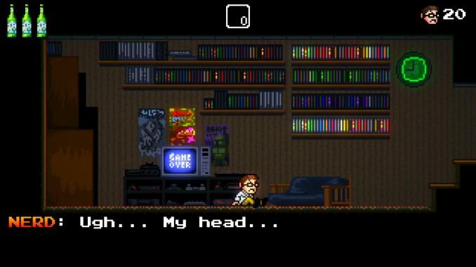 """Das Bild zeigt eine Szene aus """"Angry Video Game Nerd""""."""