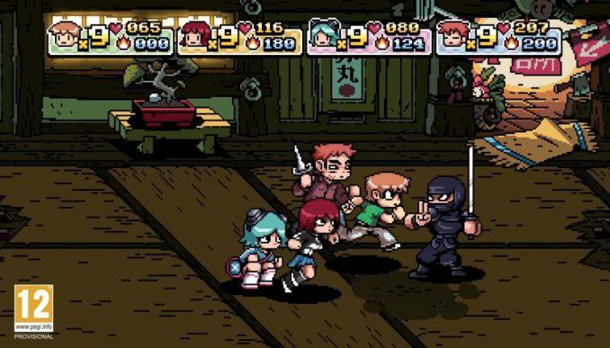 """Das Bild zeigt den Mehrspielerspaß in """"Scott Pilgrim vs. The World: The Game""""."""