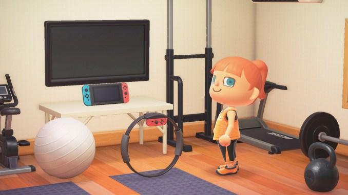 """Das Bild zeigt den Ring Con, welchen man als Dankeschön für das Laden des Herbst-Updates von """"Animal Crossing: New Horizons"""" bekommt."""