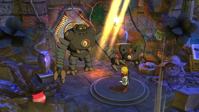 """Das Bild zeigt eine Szene aus dem Spiel """"Baldo""""."""