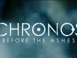 """Das Bild zeigt das Logo von """"Chronos: Before the Ashes""""."""