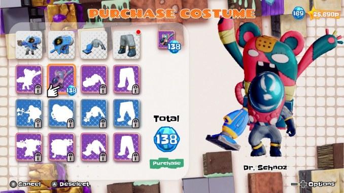 Das Bild zeigt ein Kostum, welches Dr. Schnotz tragen kann.
