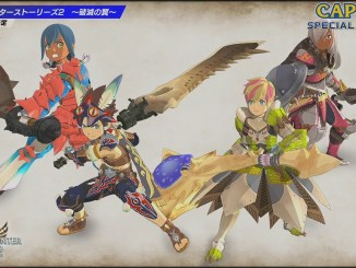 "Das Bild zeigt die Folie zu ""Monster Hunter Stories 2: Wings of Ruins""."