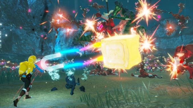 """Das Bild zeigt Zelda in """"Hyrule Warriors: Zeit der Verheerung"""", welches morgen in der Treehouse Live gezeigt wird."""