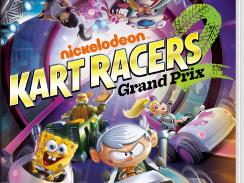 """Das Bild zeigt das Boxart von """"Nickelodeon Kart Racers 2: Grand Prix""""."""