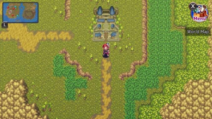 """Das Bild zeigt die Overworld in dem Spiel """"Monster Viator""""."""