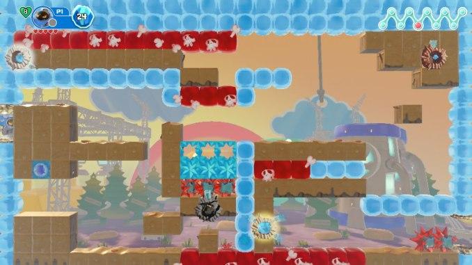 """Das Bild zeigt, wie ich mich in dem Spiel """"Georifters"""" gesavelockt habe."""