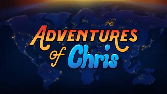 """Das Bild zeigt das Logo von """"Adventure of Chris""""."""