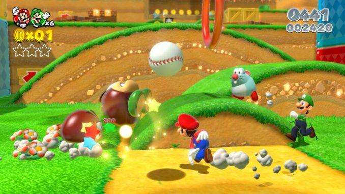 """Das Bild zeigt """"Super Mario 3D World""""."""