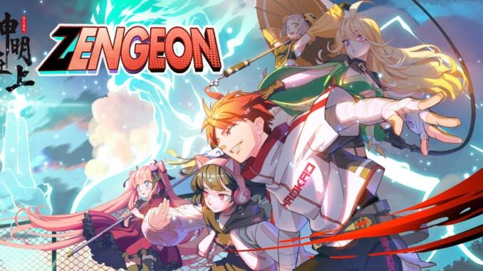 """Das Bild zeigt das Logo des Spieles """"Zengeon""""."""