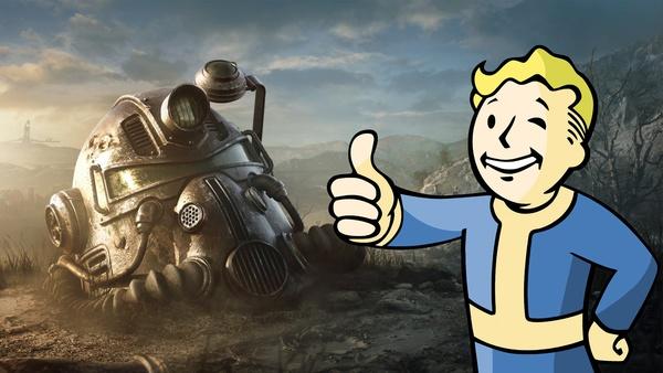 Dieses BIld zeigt den Fallout Guy der nun ein Teil von Microsoft ist