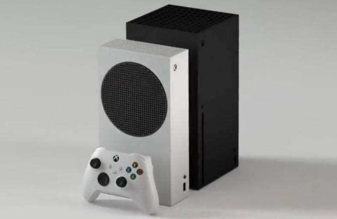 Das Bild zeigt die beiden Xbox Series-Modelle.